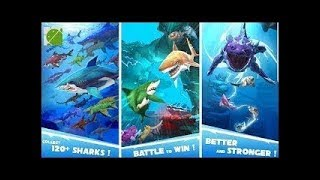 HUNGRY SHARK HEROES - GAME REVIEW on GPLAYG