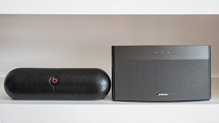 Beats Pill XL vs. Bose Soundlink Wireless Music System - indoor/outdoor comparison