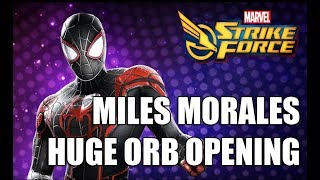 Miles Morales Orb Opening & Initial thoughts - Marvel Strike Force