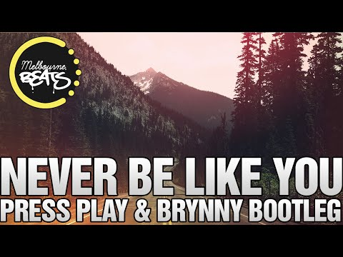 Flume Ft. Kai - Never Be Like You (Press Play & Brynny Bootleg)