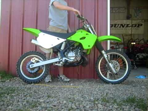 kawasaki kx 85 for sale - YouTube