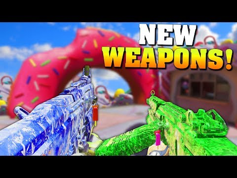 WHEN DID THEY ADD THESE FREE WEAPONS!? (New IW DLC Weapons Gameplay & Funny Moments) - MatMicMar