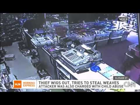 Thief With Baby Fights Clerk After Attempting To Steal Hair Weave