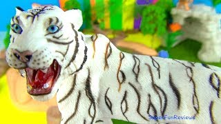 Lots of Zoo Wild Animals/Real Safari Videos and Animals Toys/Learn Colors for Children