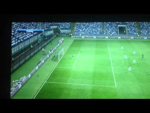 Javier Zanetti wonderfull goal in ps3 (Inter vs real madrid)