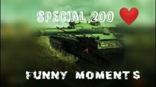 FUNNY & TROLL MOMENTS (200 Abos !!) 🔴 WOT BLITZ