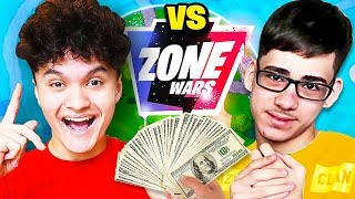FaZe Sway VS FaZe Jarvis $50,000 Fortnite Zone Wars Challenge