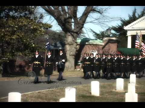 Arlington National Cemetery Military Funeral Video – Arthur S. Moura, BG, US Army