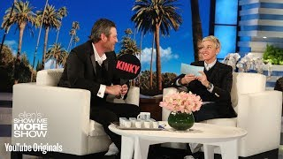 Download Lagu Blake Shelton Plays Kinky or Drinky with Ellen Gratis STAFABAND