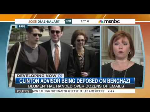Clinton adviser deposed on Benghazi, emails