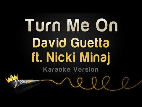 David Guetta Ft. Nicki Minaj - Turn Me On (karaoke Version) video