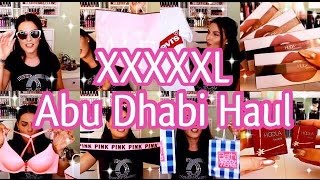 Gigantischer XXXXL ABU DHABI Haul! Sephora, Victorias Secret, Bath&Body Works, Guess,...