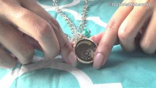 My Origami Owl Locket For Easter 2013