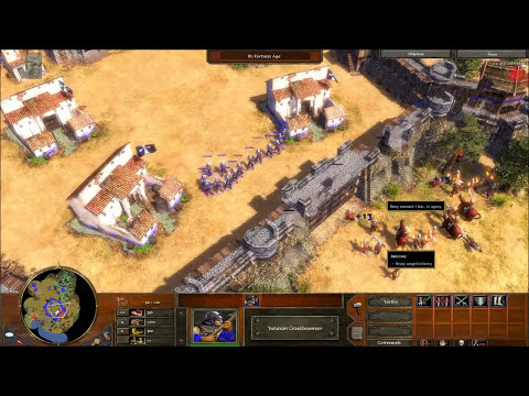 Age of Empires 3 - Act 1 Mission 1 - Breakout - Campaign Walkthrough - Hard