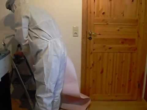 tapezieren f r anf nger youtube. Black Bedroom Furniture Sets. Home Design Ideas