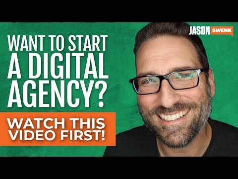 Thinking of Starting a Digital Agency. Watch this now.