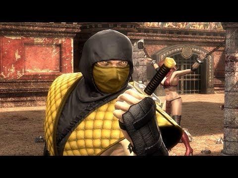 Mortal Kombat 9: All Intros / All Costumes