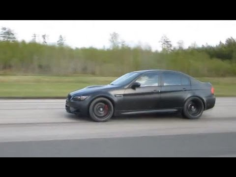 ESS BMW M3 VT-625 Coupe DKG vs ESS BMW M3 VT-625 Sedan DKG Frozen Black Individual