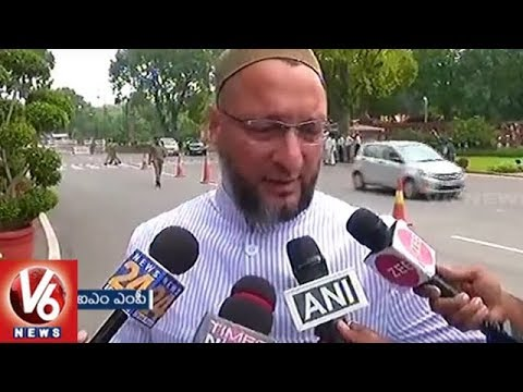 AIMIM Chief Asaduddin Owaisi Says Rajasthan Police Supporting Cow Vigilantes | V6 News
