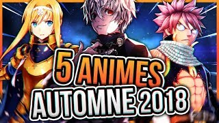 5 ANIMÉS ULTRA LOURDS de L'AUTOMNE ლ(・ᗜ・ )ლ