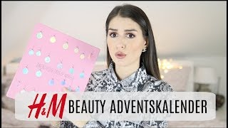 Strange 🤔 ... H&M BEAUTY Adventskalender 2018