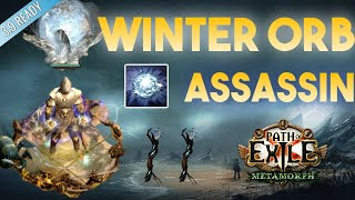 [3.9] Winter Orb Build - Assassin Shadow - Metamorph - Path of Exile 3.9