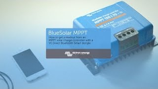 Wie man MPPT-Laderegler per Handy steuert - mit VE Direct Bluetooth Smart Dongle - Victron Energy