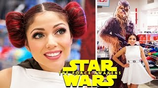 Star Wars Countdown: Princess Leia Hair Buns!​​​ | Charisma Star​​​