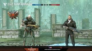 Team Liquid vs Myztro EU 2v2 TDM Open: Day 1 Quakecon 2018 200.000$ tournament