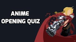 Anime Opening Quiz
