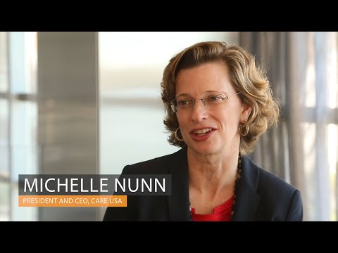 3 months in, Michelle Nunn talks new role as CARE CEO