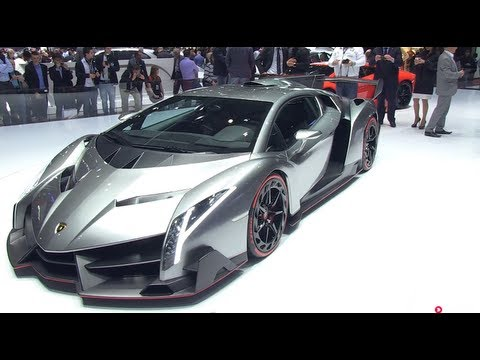 Lamborghini Veneno - Fastest Lamborghini Ever From 2013 Geneva Car Show video