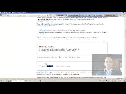 DirectShow Programming 05
