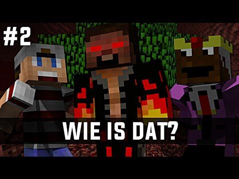 Minecraft survival #2 - WIE IS DAT?!