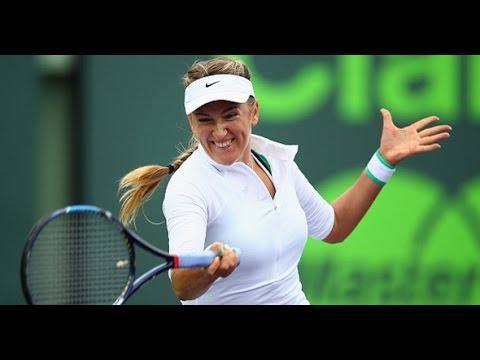 2016 Miami Open Quarterfinals | Victoria Azarenka vs Johanna Konta | WTA Highlights
