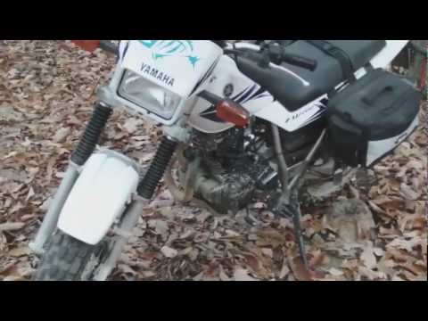 TW200 camping trip and review