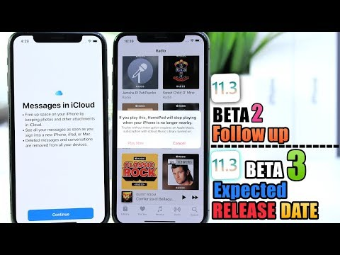 iOS 11.3 Beta 2 Additional New Features & Changes | iOS 11.3 beta 3 Released Date