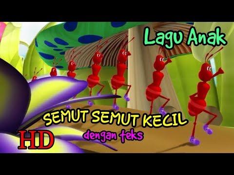 Lagu anak - SEMUT SEMUT KECIL mp4 - subtitle indonesia terbaru 2018