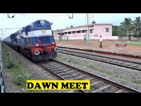 WDG3A Nagercoil Mumbai Good Morning Panakudi