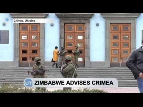 Crimea self-styled leaders welcome Zimbabwe advice on dealing with sanctions