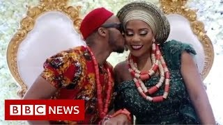Why did this Nigerian couple get married three times? - BBC News