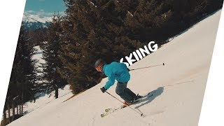 Skiing in Pany, Switzerland | DREXIRY [4K/30FPS]