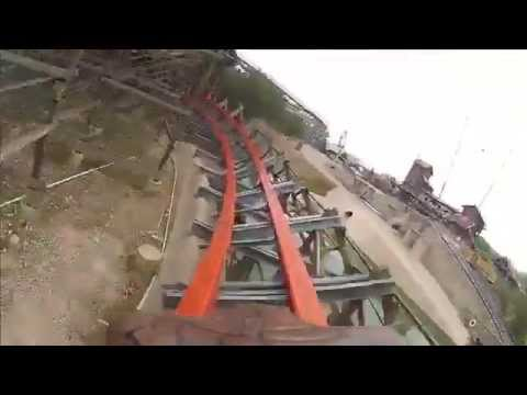 Iron Rattler Roller Coaster Test Run POV Six Flags Fiesta Texas
