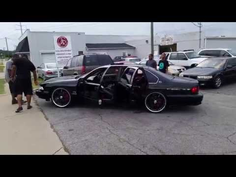 Black 96 impala SS on 22