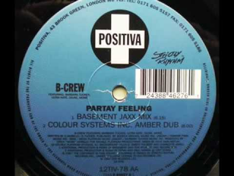 SPEED GARAGE - B-CREW - PARTAY FEELING - COLOUR...
