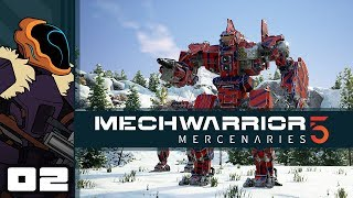 Let's Play MechWarrior 5: Mercenaries - PC Gameplay Part 2 - Char-Broiled Centurion