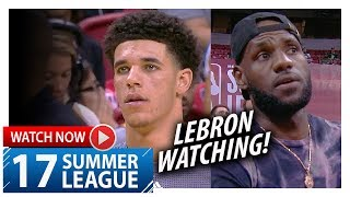 Lonzo Ball UNREAL Highlights vs 76ers (2017.07.12) Summer League - 36 Pts, 11 Ast, 8 Reb, EPIC!