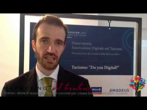 "Filippo Renga: Turismo ""Do You Digital?"""