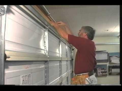 Martin garage door adjustable strut youtube for 16 foot garage door strut
