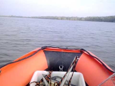 лодка солар 350 и мотор 9.8 видео